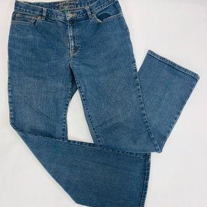 Lauren Ralph Lauren Jeans Womens 8 Blue Boot Cut